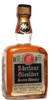 aberlour 1964 8yo campbells distillery