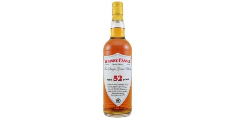 Fine Single Grain Whisky 1964 52 Years Whisky-Fässle