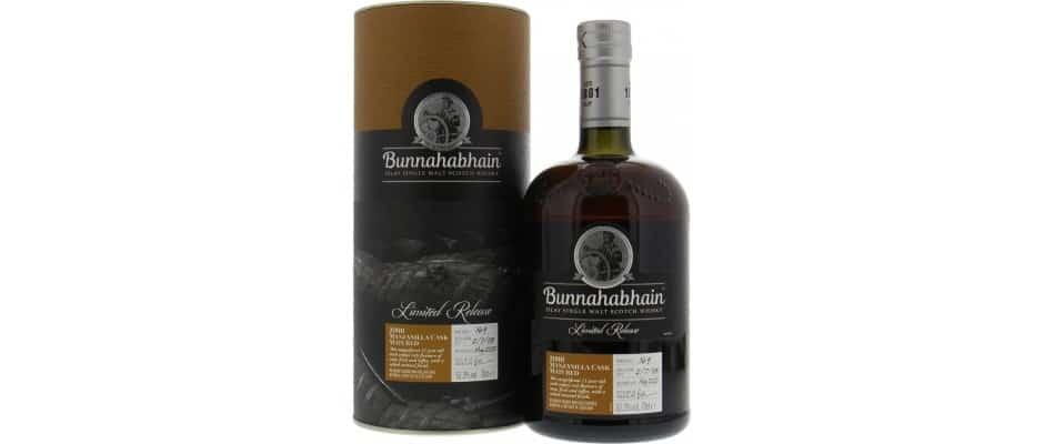 bunnahabhain 2008 11yo manzanilla warehouse 9 limited release