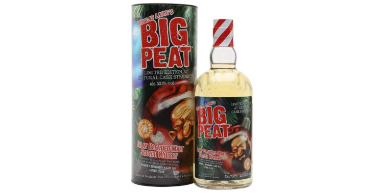 big peat blended malt christmas edition 2020