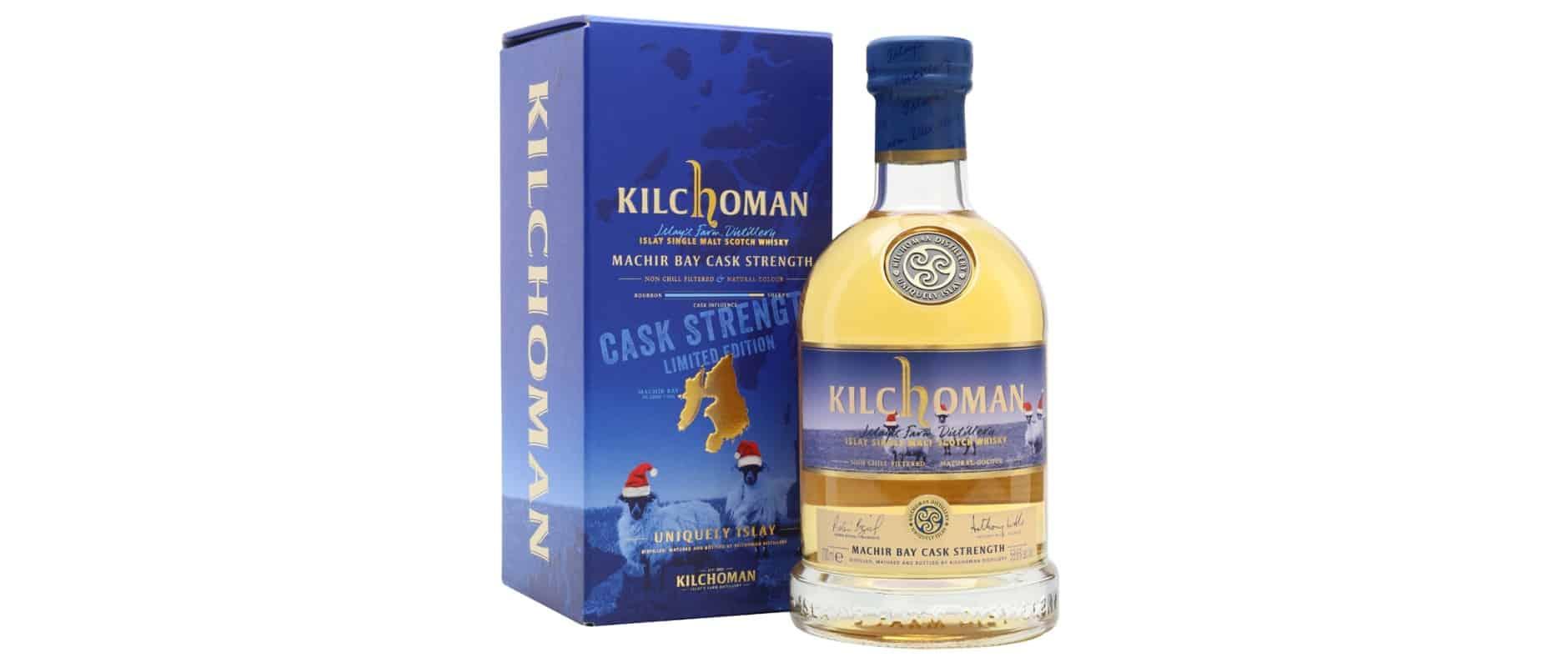 kilchoman machir bay cask strength christmas edition