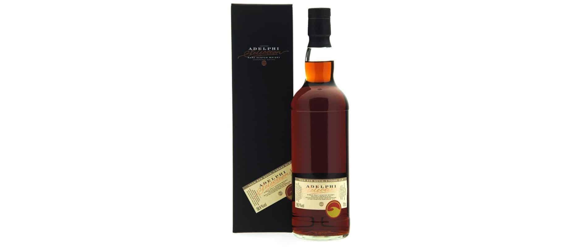 ben nevis 2015 5yo adelphi whisky import nederland 10715
