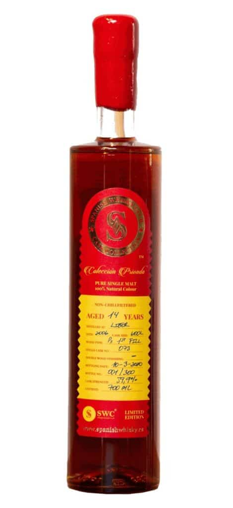 liber 14yo spanish whisky club 1