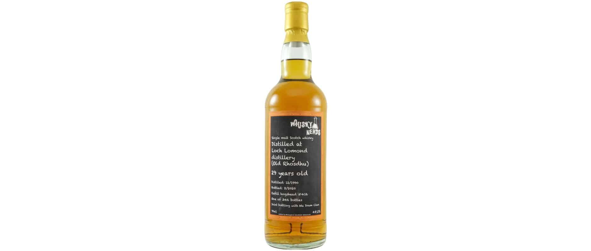 old rhosdhu loch lomond 1990 29yo whiskynerds