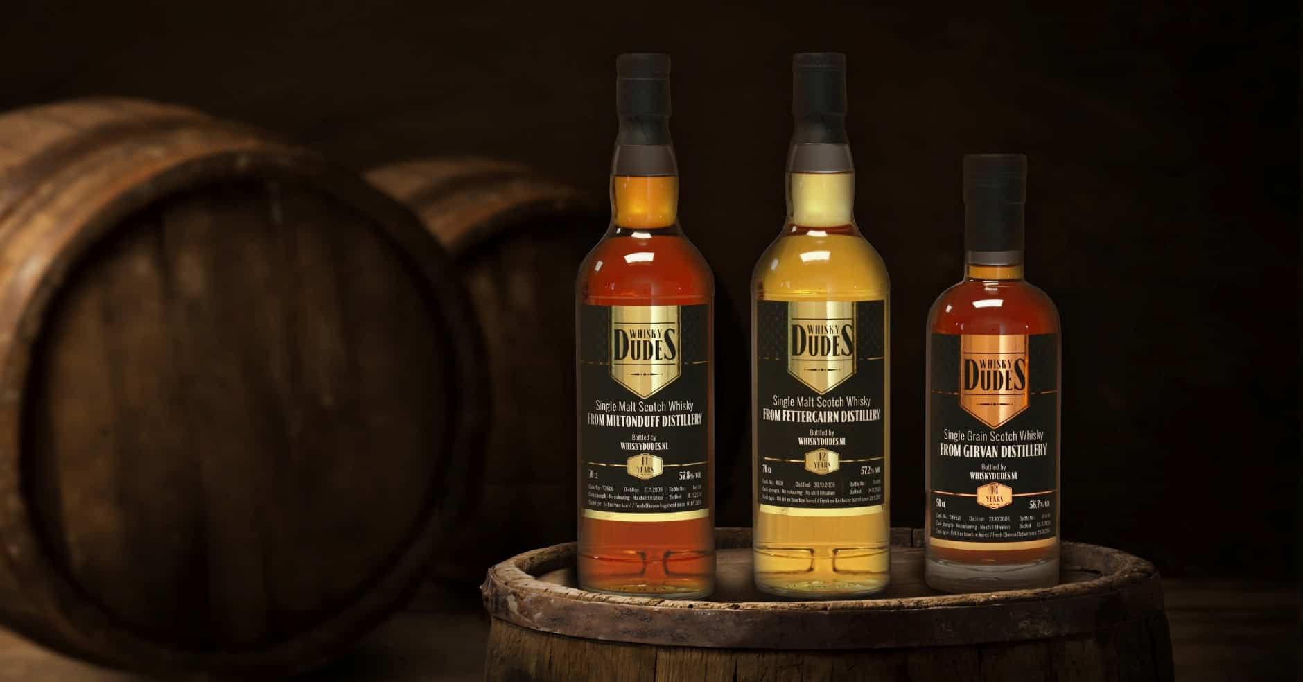 whiskydudes fettercairn miltonduff girvan