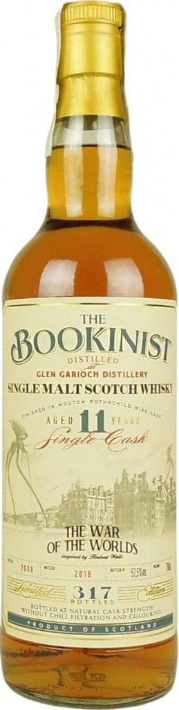 glen garioch 2008 11yo bookinist