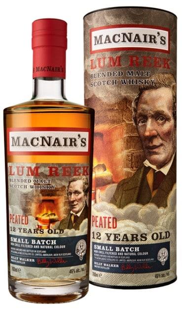 macnairs lum reek small batch peated 12 years