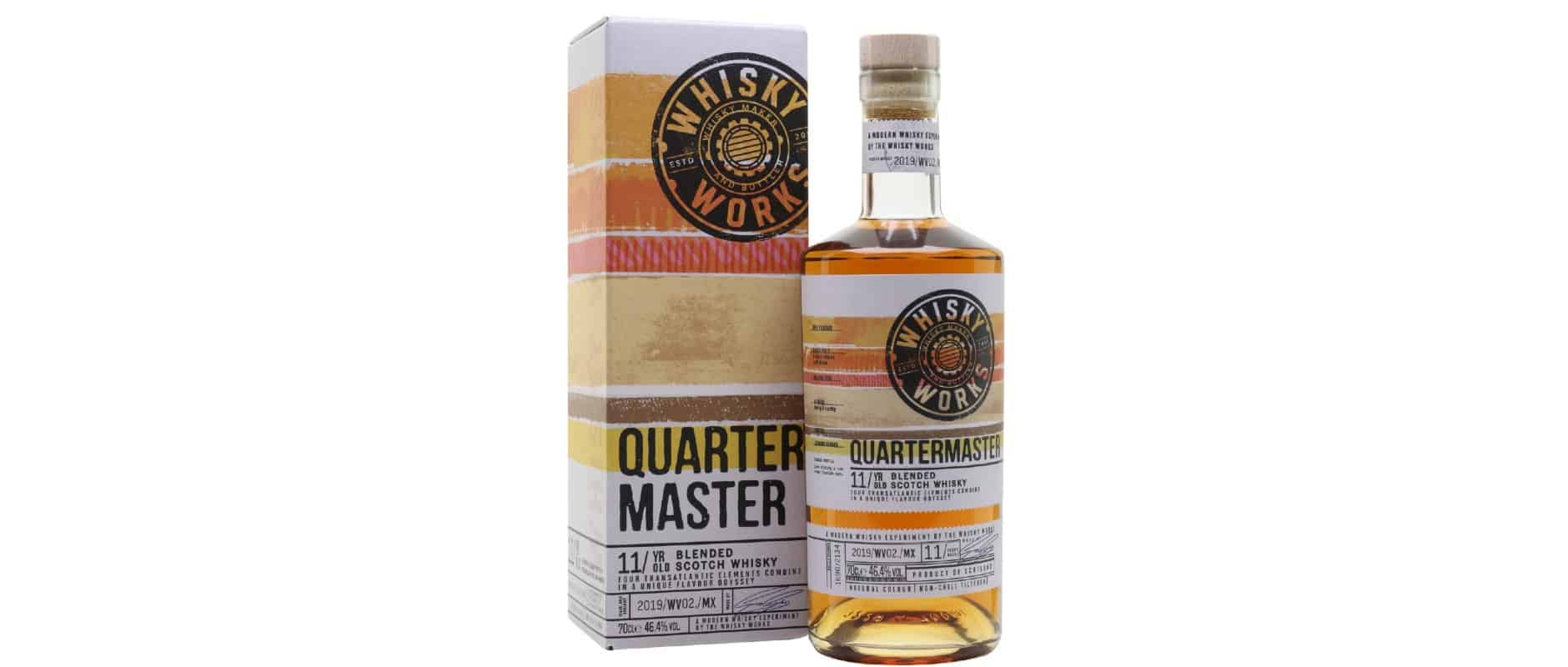quartermaster 11yo whisky works