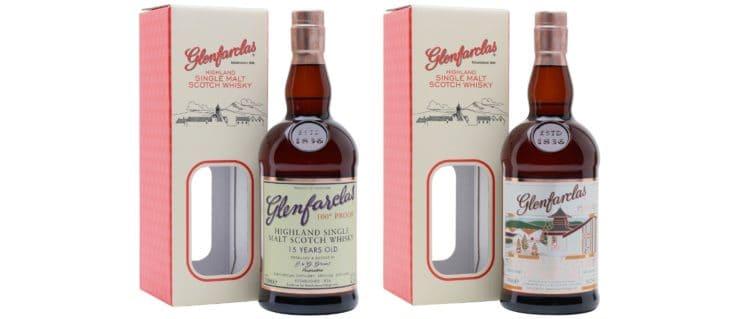 glenfarclas 15yo 100 proof 21yo 95 proof the whisky exchange