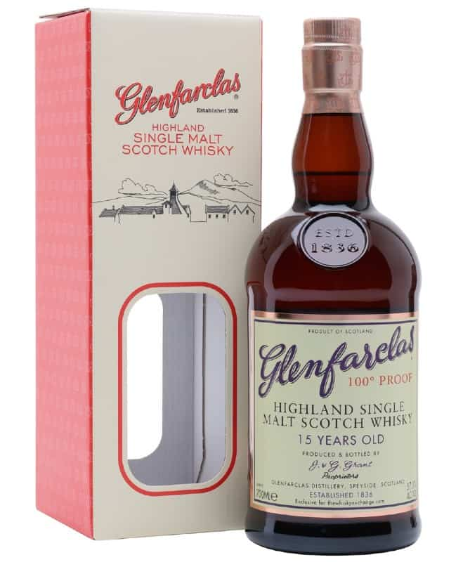 glenfarclas 15yo 100 proof the whisky exchange