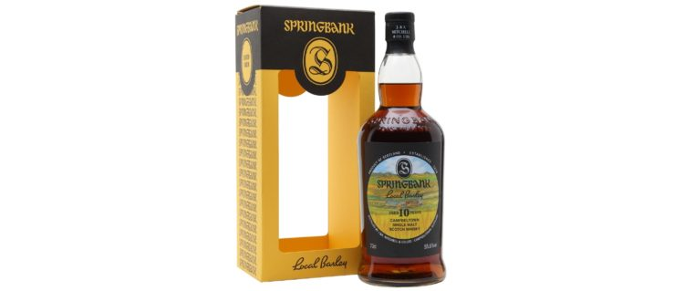 springbank 10yo 2010 local barley 2020