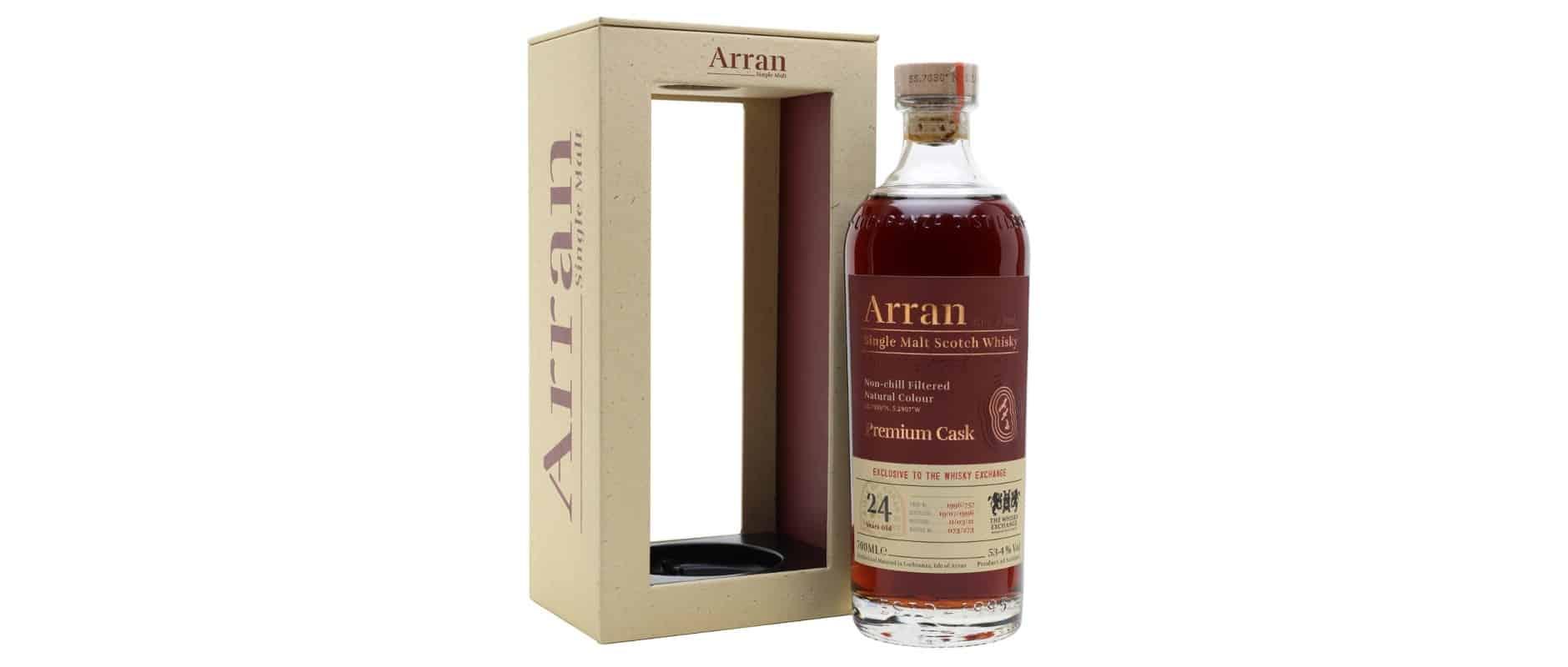 arran 1996 24yo the whisky exchange 757