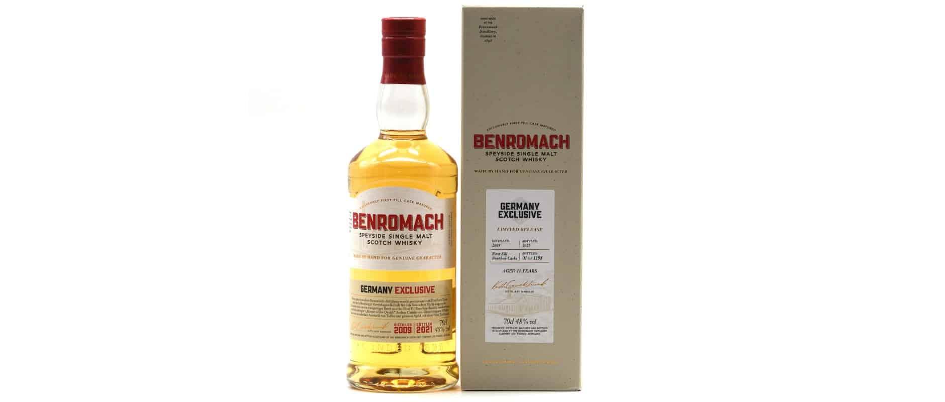 benromach 2009 11yo germany exclusive
