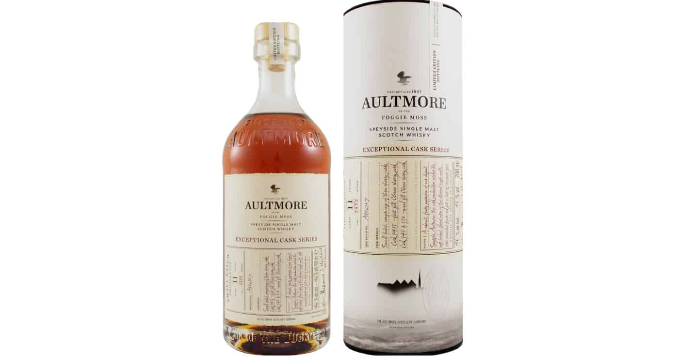 aultmore 11yo exceptional cask series