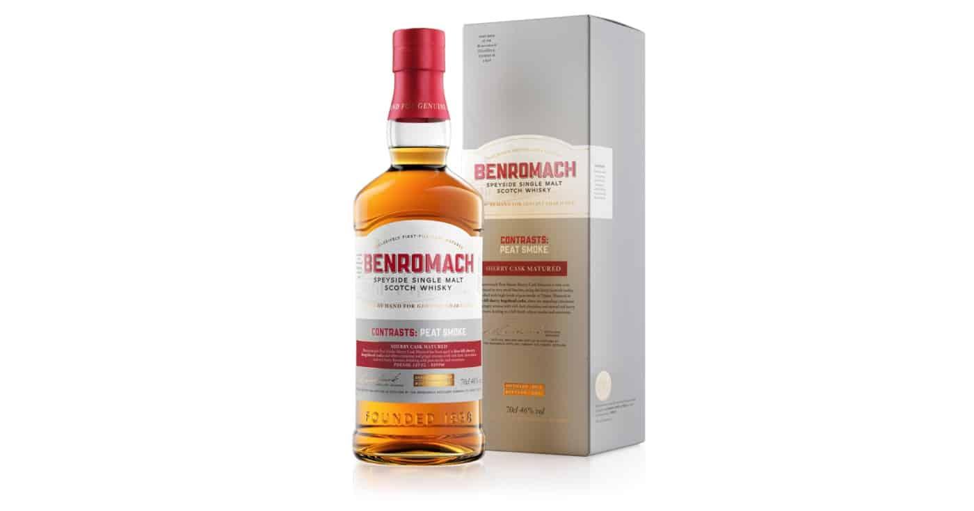 benromach 2012 peat smoke sherry cask 2021 packaging