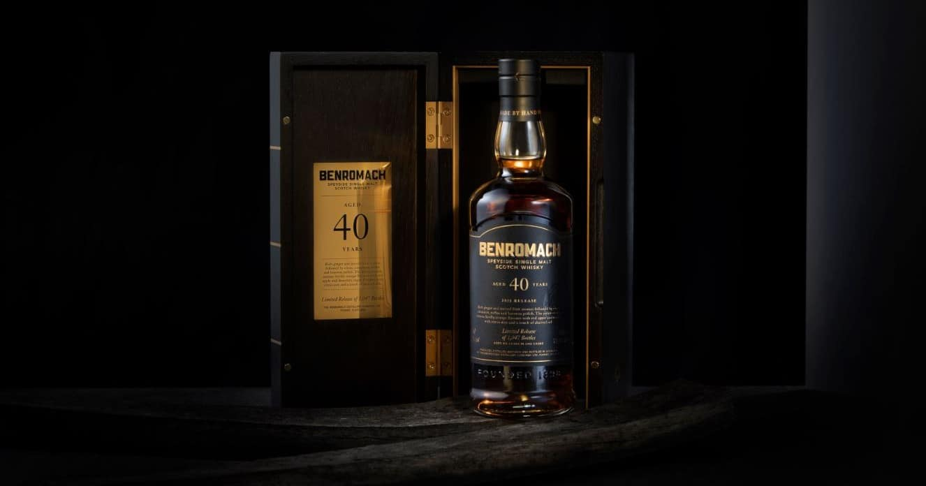 benromach 40 years old 2021 release