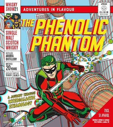 ardbeg phenolic phantom whisky show 2021