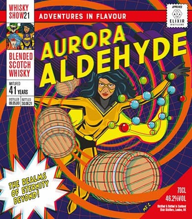 blended scotch aurora aldehyde whisky show 2021