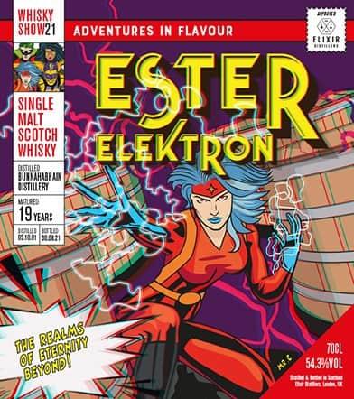 bunnahabhain ester elektron whisky show 2021