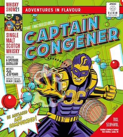 speyside distillery captain congener whisky show 2021