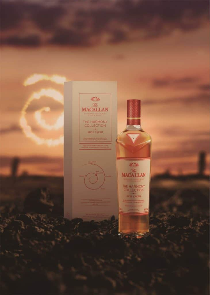 macallan harmony collection rich cacao stylized